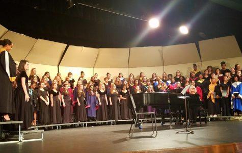 Select Choir Students Participate In All Suburban Choir Concert