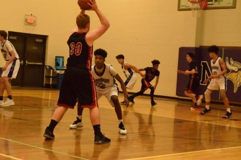 Central Defeats North JV Basketball [Photo Essay]