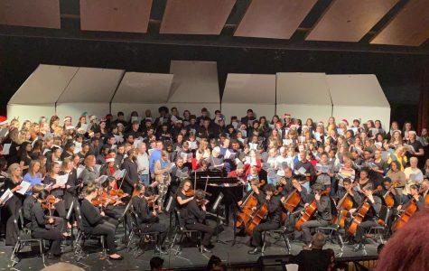 Choir Program Performs At Annual Winter Concert