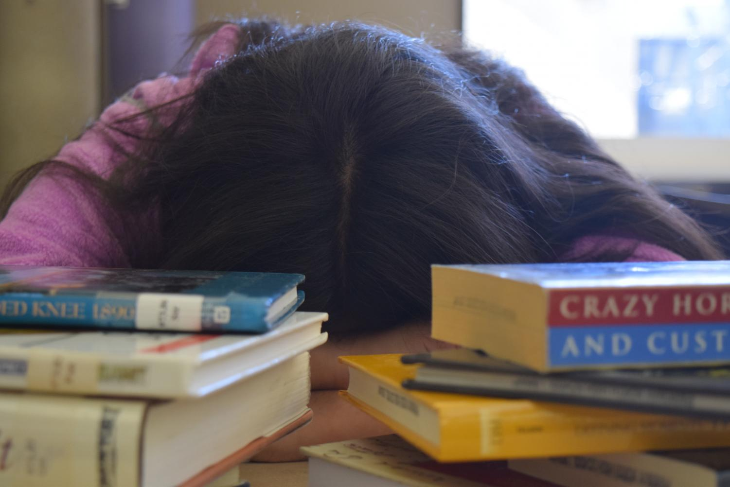 Finals week is very stressful for students. If students find themselves overwhelmed, they can reach out to their academic lab teachers and school counselor for guidance.