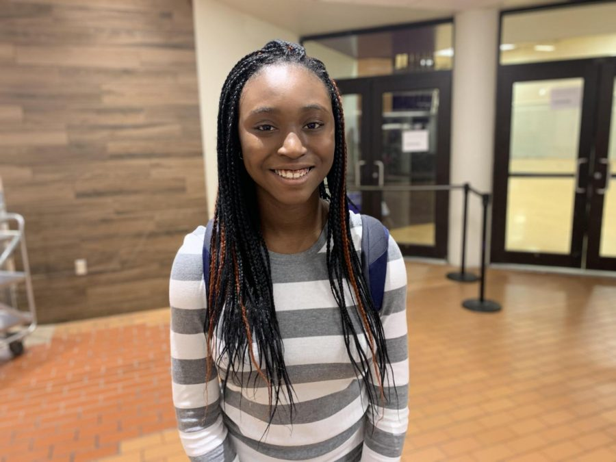 Meet Freshman Anjola Ola