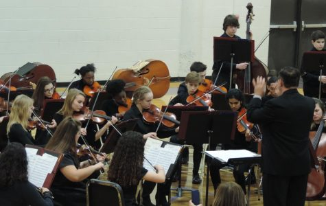 Orchestra Program Performs At Winter Concert