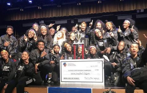 Parkway Step Team Places First in Dallas National Competition