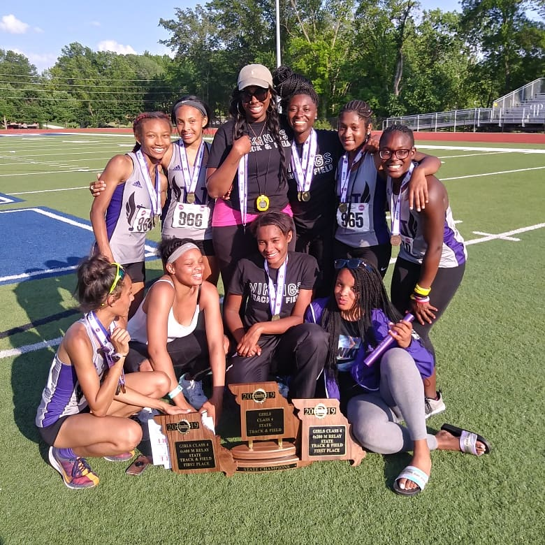 Girls Track Wins First State Championship