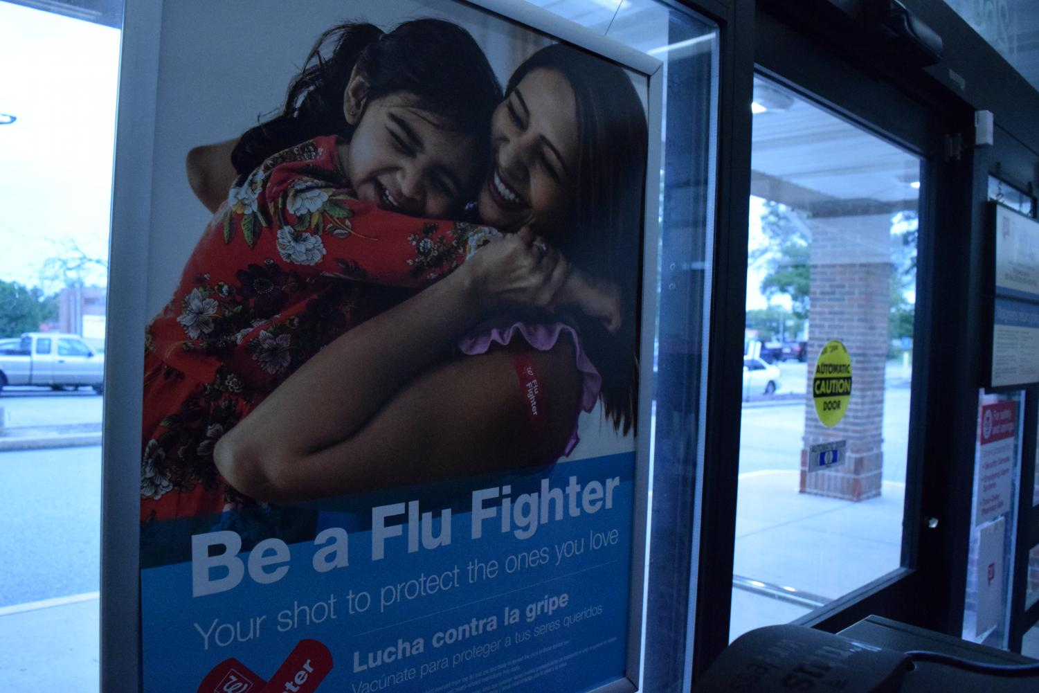 With flu season approaching, it's important to get a flu shot. If people are unwilling to wait for North's flu shot clinic on Oct. 23, Walgreens is giving them out for free.