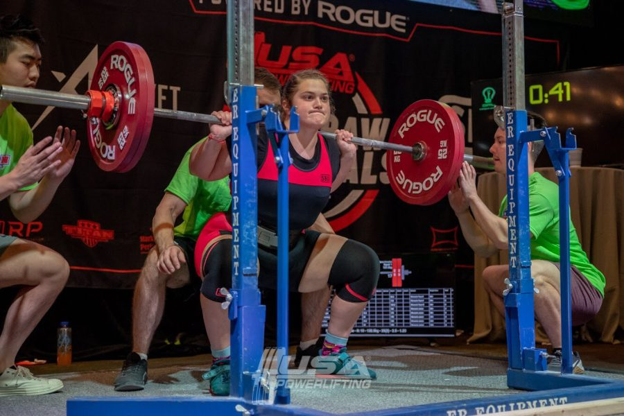 At+USA+Powerlifting+Raw+Nationals+in+Chicago%2C+Hampton+squatted+127.5+kilograms+%28281+pounds%29+and+achieved+second+in+her+division.
