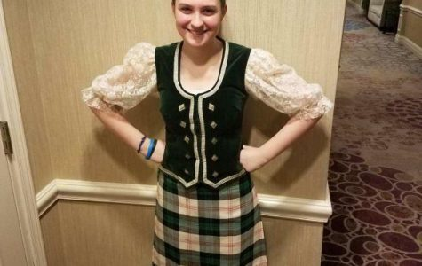 Freshman Amelie Vogt Reveals Passion of Scottish Dancing
