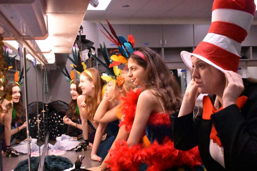 "On Feb. 12, the ""Seussical"" cast and crew perform a reduced version of the musical for McKelvey Elementary students in an effort to expose the younger generations to more theatre. ""I [chose 'Seussical'] because I'm looking for ways to get younger kids connected to theatre. Little kids are not as afraid to try and do things, so if I can figure out a way to get them interested in theatre early, it builds stronger theatre people,"" said Little."