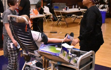 NHS Holds Spring Blood Drive