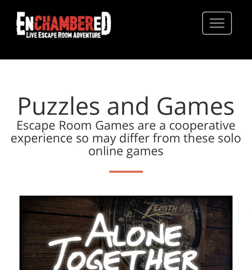 Enchambered: Live Escape Room Adventure Review