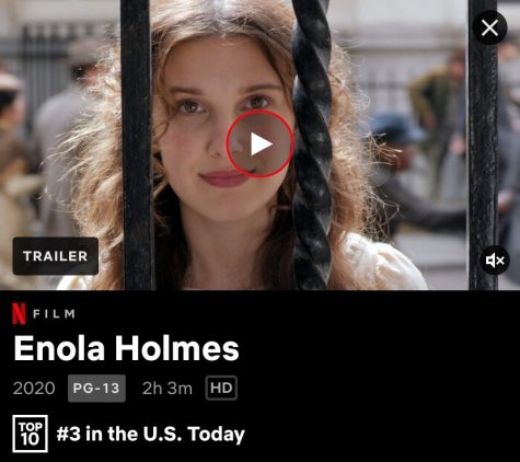 "After being released on Netflix on Sept. 23, 2020, ""Enola Holmes"" has already reached the top of the charts as of Oct. 1. The writers and actors manage to combine great aesthetic and great performances, all while proceeding through an intriguing plot."