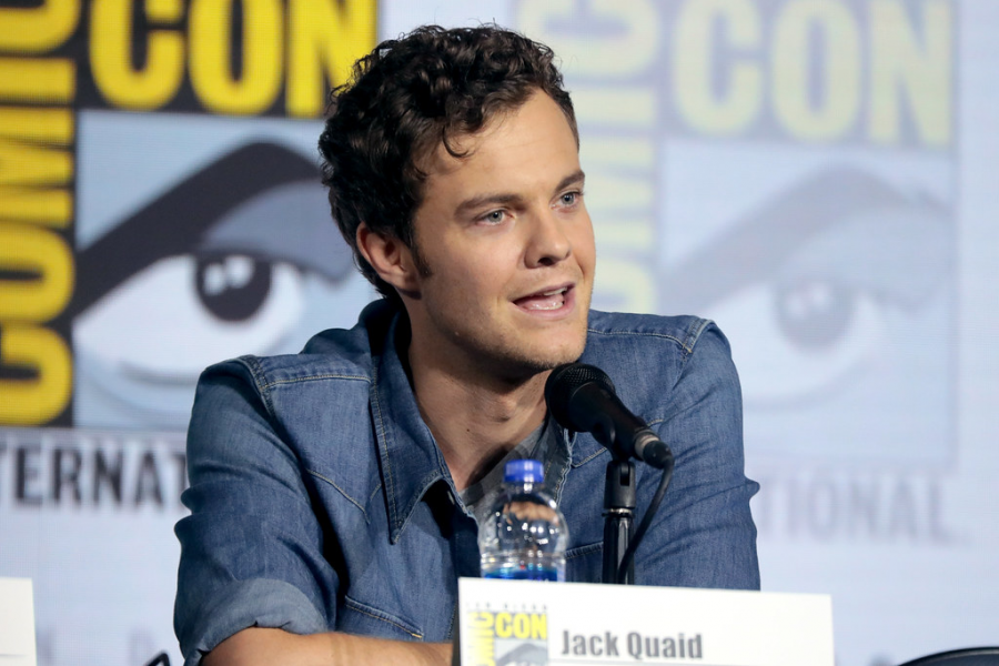 "Jack Quaid, who portrayed Hughi Campbell, speaking at ComicCon. ""The Boys"" was Quaid's first leading role."