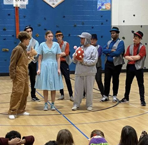 On Feb. 12, 2020, the Parkway North cast performed their production of Seussical the Musical  at Mckelvey Elementary School with a reduced script for the younger grades. The show took place only a month before students began doing online school and quarantine started.