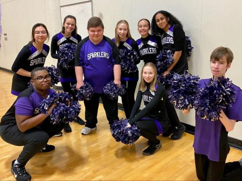 "The 2019-2020 Sparklers performed at basketball games during halftime after the cheerleaders but  due to COVID-19, the 2020-2021 team must practice on zoom and may not be able to perform in-person this year. ""We perform at 3-4 home games a year and then at Special Olympics. We missed that in 2020 due to the pandemic, and we missed properly seeing our seniors of 2020 off,"" said Frank."