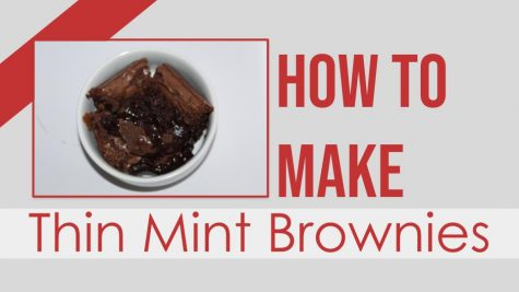 How to Make Thin Mint Brownies