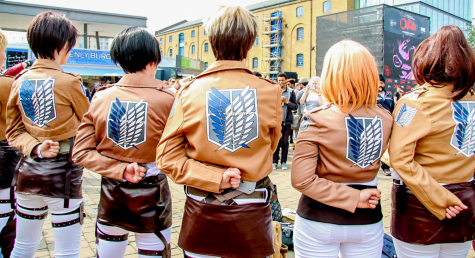 Attack on Titan was massively popular, inspiring events and cosplays like the one pictured above, at MSM Comic Con.