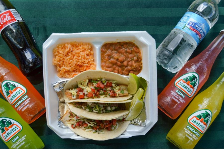 Macako Tacos is a food stand that specializes in authentic Mexican cuisine. It's opening days will be on March 13 and 14. After that it will be open every Saturday and Sunday until later in 2021. Each taco plate comes with three tacos and sides of rice and beans.