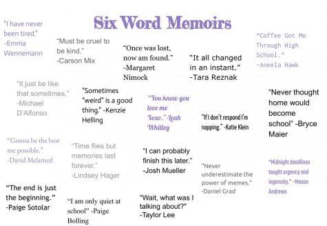 Seniors Share Six Word Memoirs