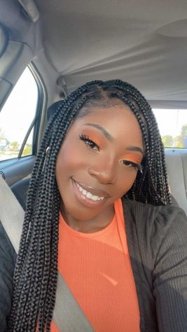 """Senior Ashanti Dake is a cosmetics entrepreneur. She started her business, Simply Dolled, in September 2020. Dake paid and took a class with a licensed aesthetician to get certified. """"I always felt like it was something weighing on me because I wanted to start it freshman year as just a lipgloss business but pushed it to the back of my mind,"""" said Dake."""