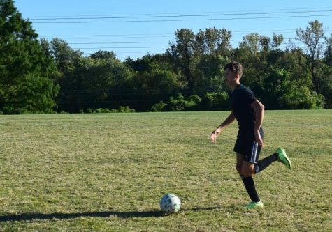 """North's junior varsity soccer team has had to overcome challenges, but they are headed in the right direction. """"They are alright sometimes they mess up but they usually get right back to the game,"""" said sophomore and junior varsity soccer player Garret Davies."""